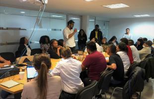 Sujetos de reparación colectiva distritales y nacionales se reúnen en la Alta Consejería para consolidar acciones en Bogotá que beneficien a la población víctima del conflicto armado.