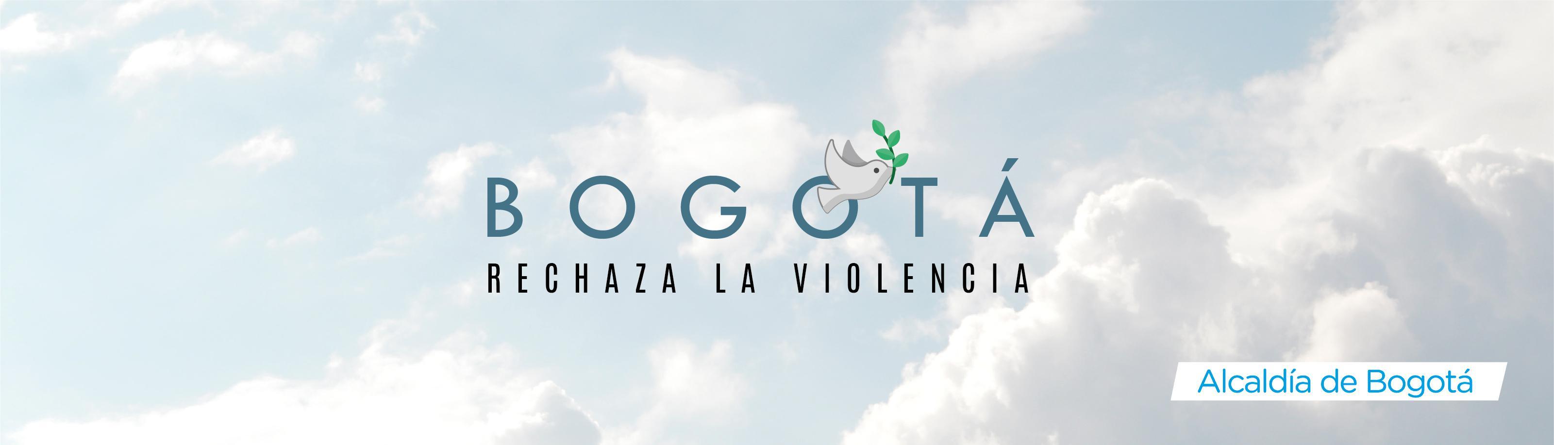 Bogotá rechaza la violencia